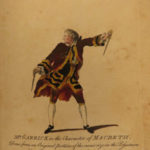 1770 1ed Characters of English Stage Theater Shakespeare Macbeth Hamlet Zoffany