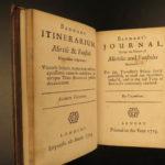1723 Drunken Barnaby Four Journeys Brathwait English Satire Alcohol Wine Beer