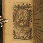 1772 Hungarian Bible Prayer Book Isten Annyanak Cserei Illustrated Vienna RARE