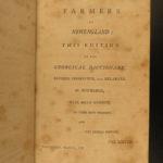 1797 New England Farmer American Agriculture Farming Gardening Thomas Jefferson