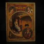 1882 Cinderella Fairy Tale McLoughlin Toy Pantomime Fantasy Color Illustrated