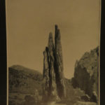 1900 COLORADO Photography Shadow of Pikes Peak Springs Mountains Illustrated