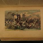 1861 Revolutionary War INDIANS American Revolution COLOR Illustrated Americana