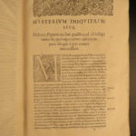 1611 1st ed Huguenot Mornay Mystery of Iniquity Pope Paul ANTICHRIST Hobbes RARE