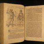 1600 Lazius De Gentium Illustrated KNIGHTS Celts Franks Lombards Voyages Travels