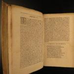 1626 Greek Language & Literature Anthology Possel Calligraphia Oratoria RARE