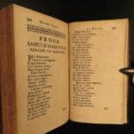 1698 Hymni Sacri et Novi Catholic Hymns Music Chant Latin Poetry Jean Santeul
