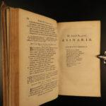 1664 Works of Plautus Ancient Roman Poetry Gronovius Latin Bacchides Comedies
