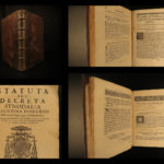 1680 1ed Diocese of Besancon France Statutes Decrees Catholic Church Grammont