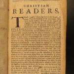 1680 1ed Renunciation of Popish Doctrine anti-Catholic Rogers Protestant England