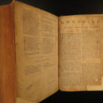 1752 WELSH Bible & Book of Common Prayer BASKETT Anglican Prys + PROVENANCE