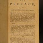1759 ENGLISH ed Essays of Michel de Montaigne French Renaissance Philosophy Humanism