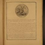 1751 1ed Campaigns Louis XV France Military Medallions Coins Numismatics Vernon