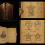 1888 1ed Negro Troops in CIVIL WAR American Slaves Union Army Vicksburg Grant