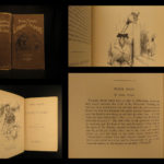1888 1st/1st Mark Twain Library of Humor Short Stories Illustrated Jumping Frog