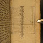 1680 Five Orders Architecture VIGNOLA Italian ART Michelangelo RARE French ed