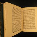 1800 Arabic Quran Koran Middle East ARAB Muslim Islam Persia Journal