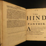 1687 John Dryden Hind and Panther Masterpiece Church of England Protestant