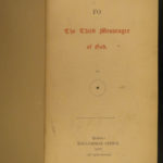 1878 1ed Book of Fo Buddhism Buddha Apocalypse Messenger Esoteric Occult Kenealy