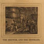 1836 Panorama of Professions & Trades Hazen Economics Manufacturing Illustrated