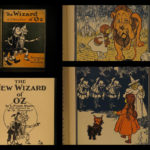 1903 WIZARD of OZ Baum Illustrated Denslow Fantasy Children's Literature Color