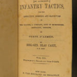 1865 Infantry Tactics Civil War General Silas Casey Brigade Illustrated 3v RARE
