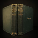 1880 Edgar Allan Poe Prose Tales Poems Macabre Esoteric Occult Horror Literature