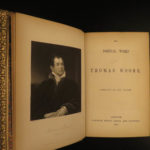 1855 EXQUISITE Thomas Moore Irish Poems Ireland Lalla Rookh GOLD BINDING