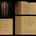 1852 1st ed King Alfred the Great of Wessex VIKINGS Saxon England Poetry Kelsey