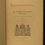 1897 Ltd ed SWEDISH ART Collections Bottiger Furniture Sweden Konstsamlingarna