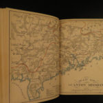 1885 1ed Cross & Dragon CHINA Missionary Voyages Chinese Canton Map Opium Asia