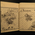1850 Iwami Hero Samurai Revenge Hideyoshi Japanese Katsushika Isai Buddhist