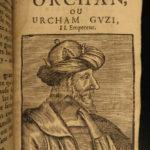 1653 TURKS Ottoman Empire Sultans Turkish Viziers Mehmed III Verdier CRUSADES