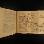 1729 1st ed Homer ODYSSEY & ILIAD Greek Mythology Samuel Clarke Latin Greek 4v