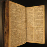 1739 RARE John Baskett COMPLETE Holy BIBLE OXFORD with PROVENANCE Gold Binding
