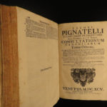 1695 ENORMOUS Council Trent FOLIOS Italian Pigantelli Canonicae Catholic Church