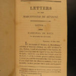 1801 1st ed Marie of Sevigne FAMOUS Letters French Society Salons EXQUISITE SET