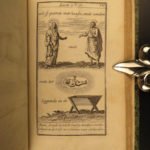 1736 DUTCH Little Holy Bible 150 Illustrated Allegory ART Bybel Amsterdam RARE