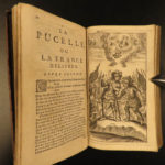 1656 Pucelle Joan of ARC French Hundred Years War Chapelain Jean D'Arc FAMOUS