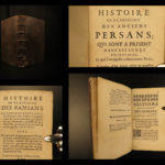 1666 1st ed Henry Lord in INDIA East Indies Bania Surat Gujarat Customs Persia
