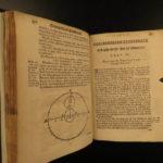 1676 1ed Art of Gunnery Binning English Gunpowder Mathematics Cannons Guns War
