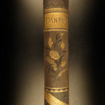 1884 DANTE Divine Comedy Illustrated Inferno Paradise Purgatory Gustave Dore
