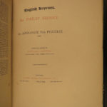1869 Famous English Literature Milton Latimer Selden James VI England Scotland
