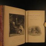 1879 Waverley Novels Sir Walter Scott Rob Roy Ivanhoe 24v SET Edinburgh Scotland