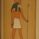 1904 1st ed Egyptian Gods Budge Mummy Hieroglyph Mythology COLOR Illustrated