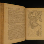 1862 Napoleon Bonaparte French Revolution WARS Illustrated Maps 2v PROVENANCE