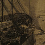 1874 1st/1st ed Jules Verne Floating City Blockade Runners Adventure Illustrated