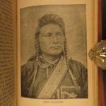 1891 Life of Sitting Bull Native American Indians DAKOTA Illustrated Ghost Dance