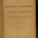 1869 Southern Rebellion Confederate Civil War Slaves CSA Lincoln Illustrated
