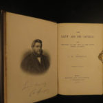 1886 Charles Spurgeon Saint & His Savior Puritan Baptist Bible Devotional